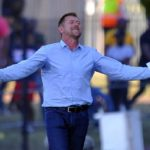 Eric Tinkler coach of Maritzburg United