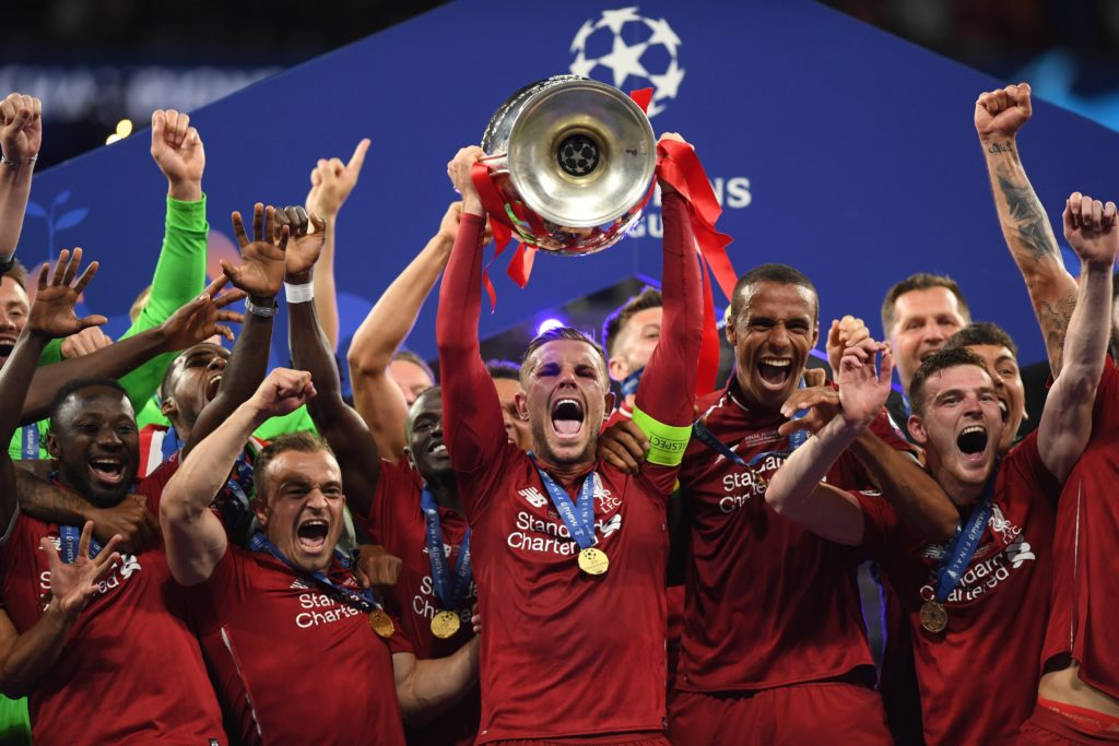 Liverpool crowned UCL champions