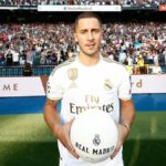 Real unveil new signing Hazard