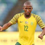 Kamohelo Mokotjo of Bafana Bafana