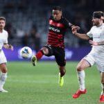 Western Sydney Wanderers midfielder Keanu Baccus