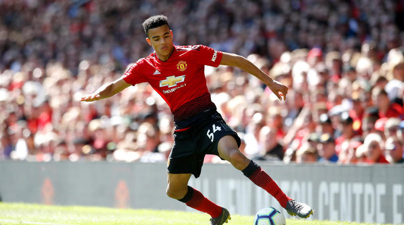 Manchester United youngster Mason Greenwood