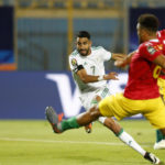 Mahrez magic helps Algeria reach quarter-finals