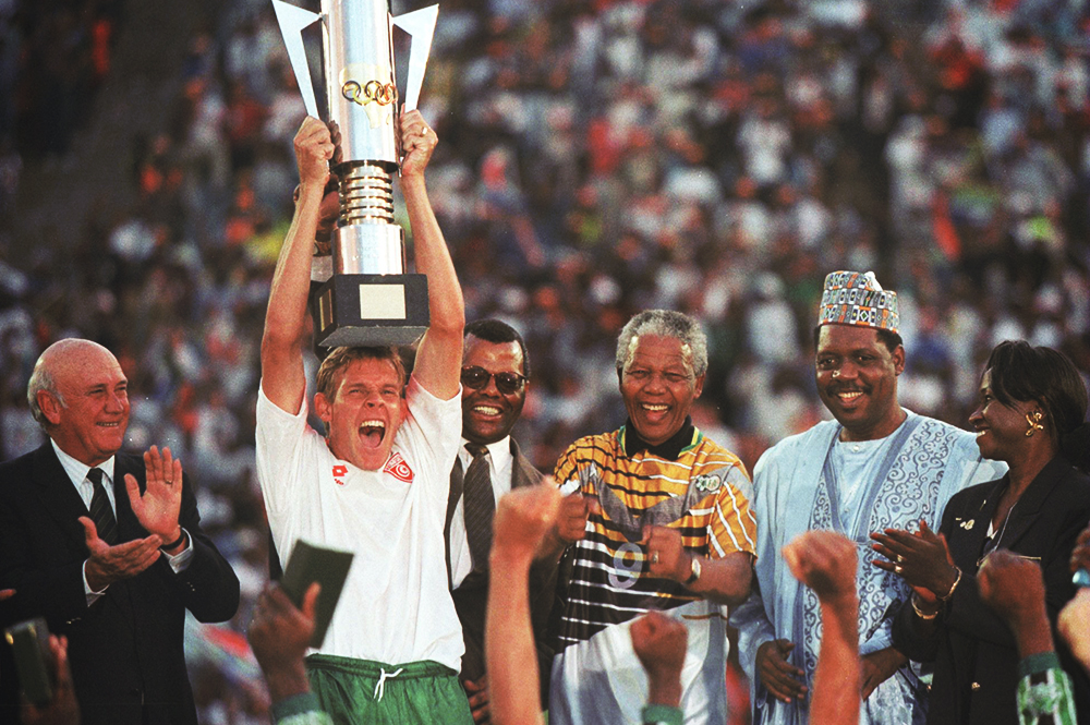Throwback: Bafana won 1996 Afcon on home soil
