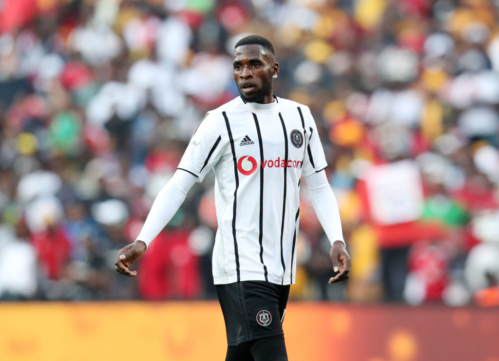 Fortune Makaringe of Orlando Pirates