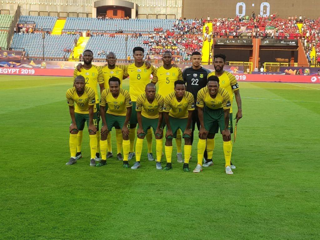 Starting XI: Egypt vs Bafana Bafana