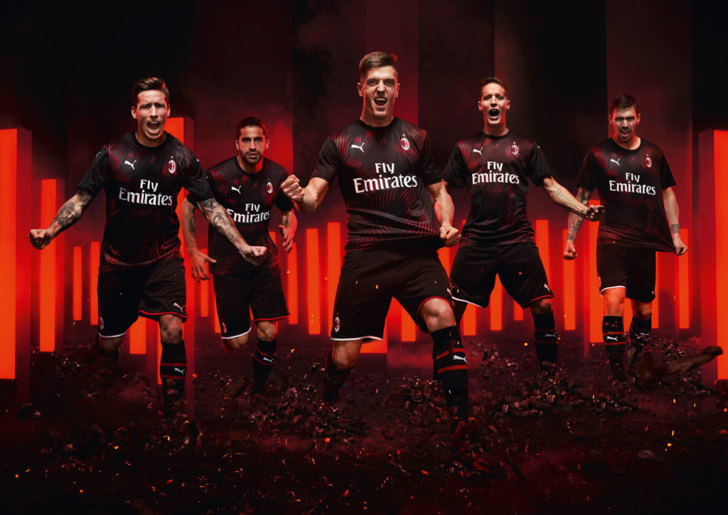 PUMA releases AC Milan third kit