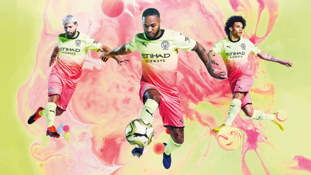 PUMA launches Man City's new third kit