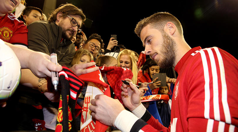 De Gea: I'd love to be handed United captaincy