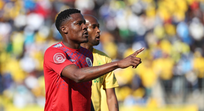 Thamsanqa Gabuza of SuperSport United