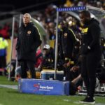 Cape Town City coach benni McCarthy and Kaizer Chiefs coach Ernst Middendorp