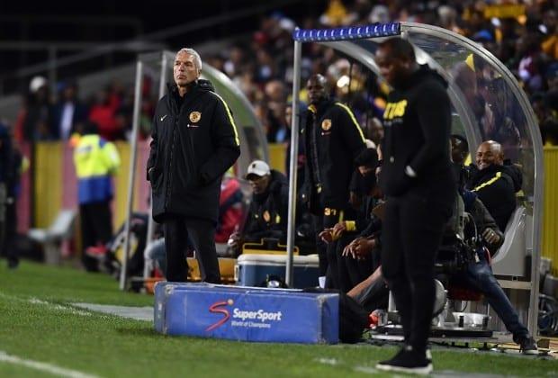 Cape Town City coach benni McCarthy and Kaizer Chiefs coach Ernst Middendorp