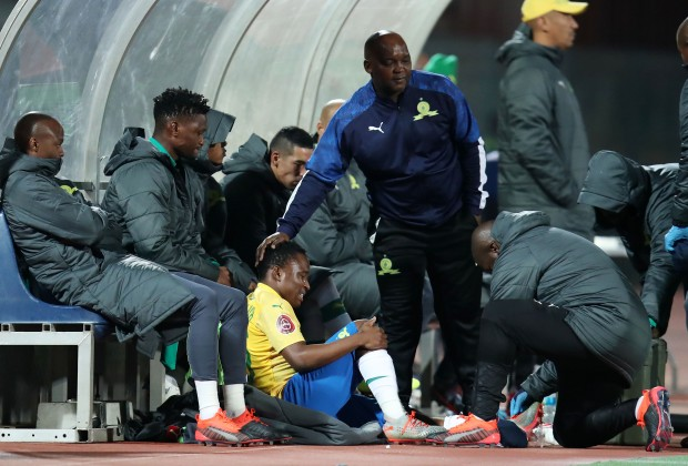 Sundowns' Makgalwa out for several months