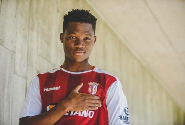 Kodisang plans to break into Braga's first team