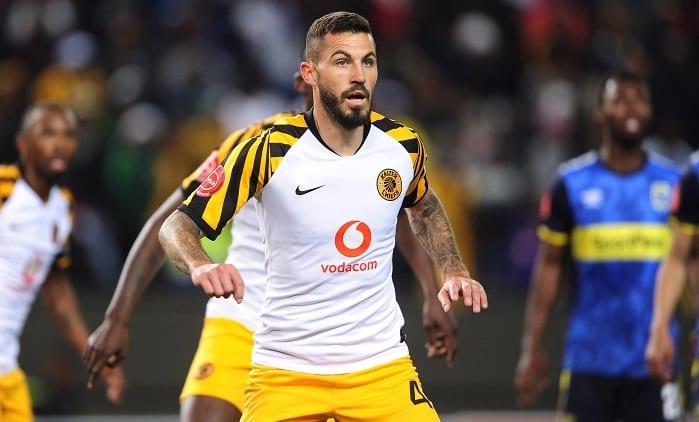 Daniel Cardoso of Kaizer Chiefs