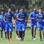 MTN8 SuperSport United players during training