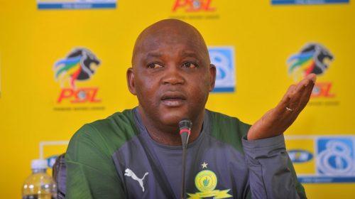 Pitso Mosimane coach of Mamelodi Sundowns