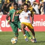 Kearyn Baccus of Kaizer Chiefs FC