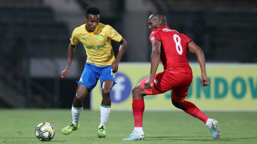 Sundowns secure late win against Highlands