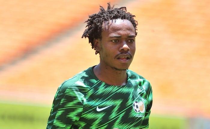 Percy Tau of Bafana Bafana