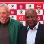 Ernst Middendorp, coach of Kaizer Chiefs and Pitso Mosimane, coach of Mamelodi Sundowns