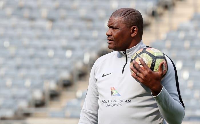 Molefi Ntseki, coach of Bafana Bafana