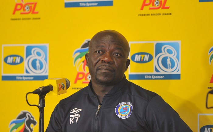 Kaitano Tembo coach of SuperSport United