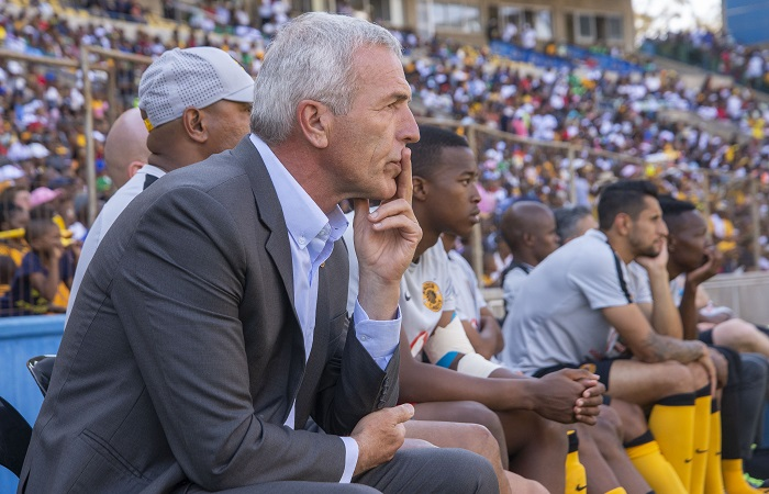 Ernst Middendorp, Head Coach of Kaizer Chiefs