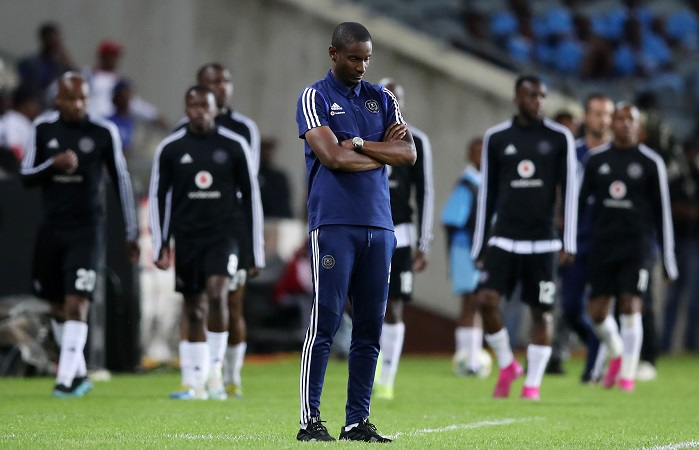 Rhulani Mokwena, coach of Orlando Pirates