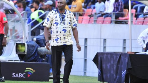 Molefi Ntseki coach of Bafana Bafana
