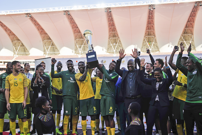 Watch: Bafana beat Mali to claim Nelson Mandela Challenge title