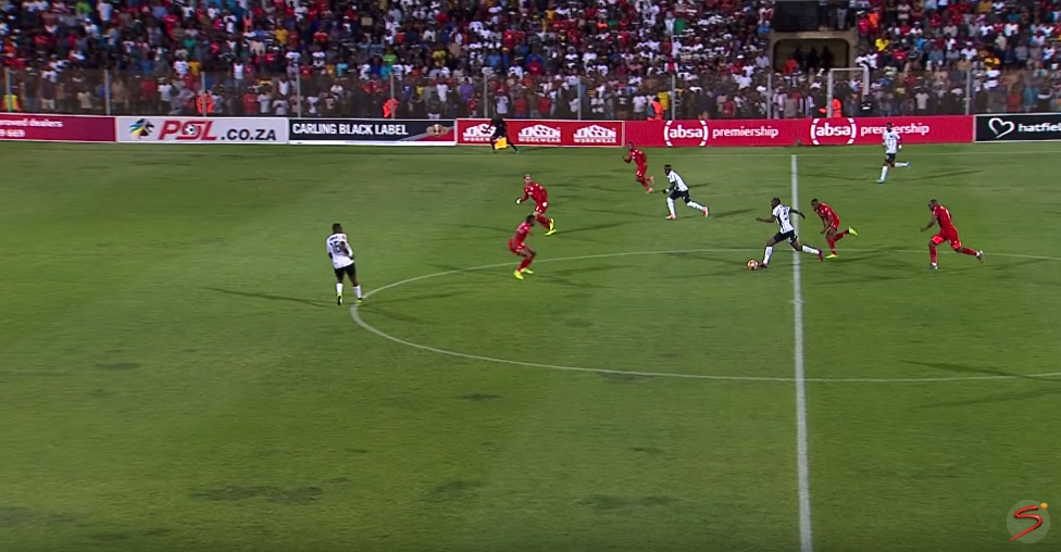 Should Pirates' goal have been disallowed for offside?