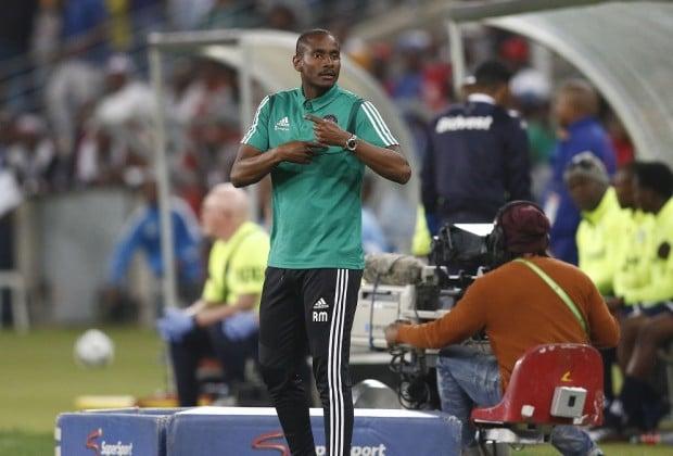 Orlando Pirates coach Rhulani Mokwena