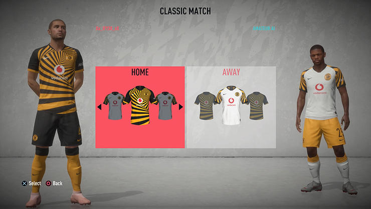 Chiefs named in 10 best kits on Fifa 20
