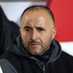 Algeria head coach Djamel Belmadi