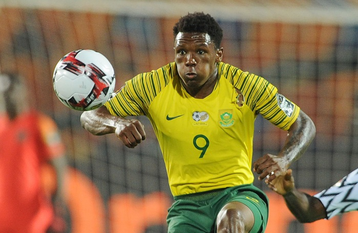 Lebo Mothiba of Bafana Bafana