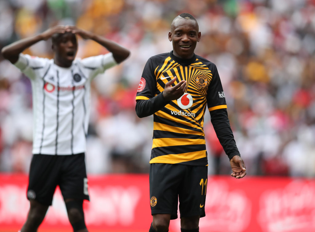 Billiat: I'll never be happy with my performance