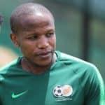 Lebogang Manyama of Bafana Bafana