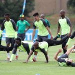 In picture: Sundowns training session ahead of Arrows clash