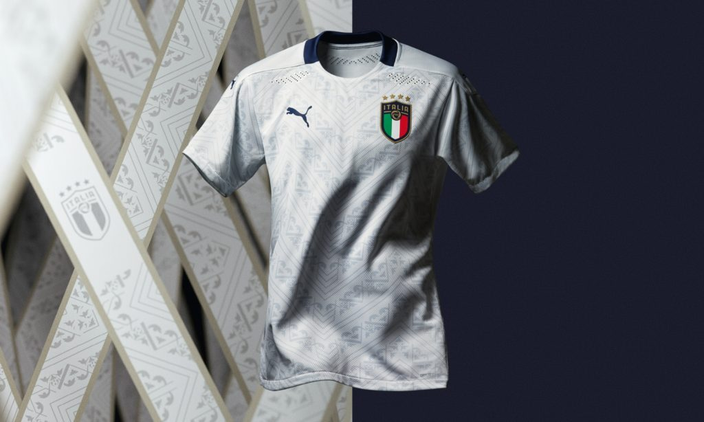 Puma launches new 2020 Italy away shirt