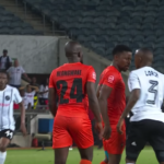 Watch: Lorch, Tlolane tempers get the better of them