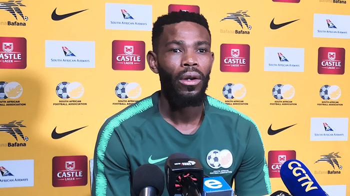 Bafana Bafana captain Thulani Hlatshwayo