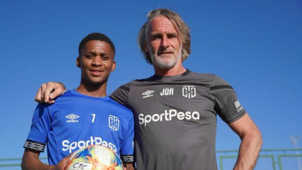 Riekerink promotes starlet to CT City first team