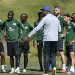 In Pictures: Bafana's first training session ahead of 2021 Afcon qualifiers