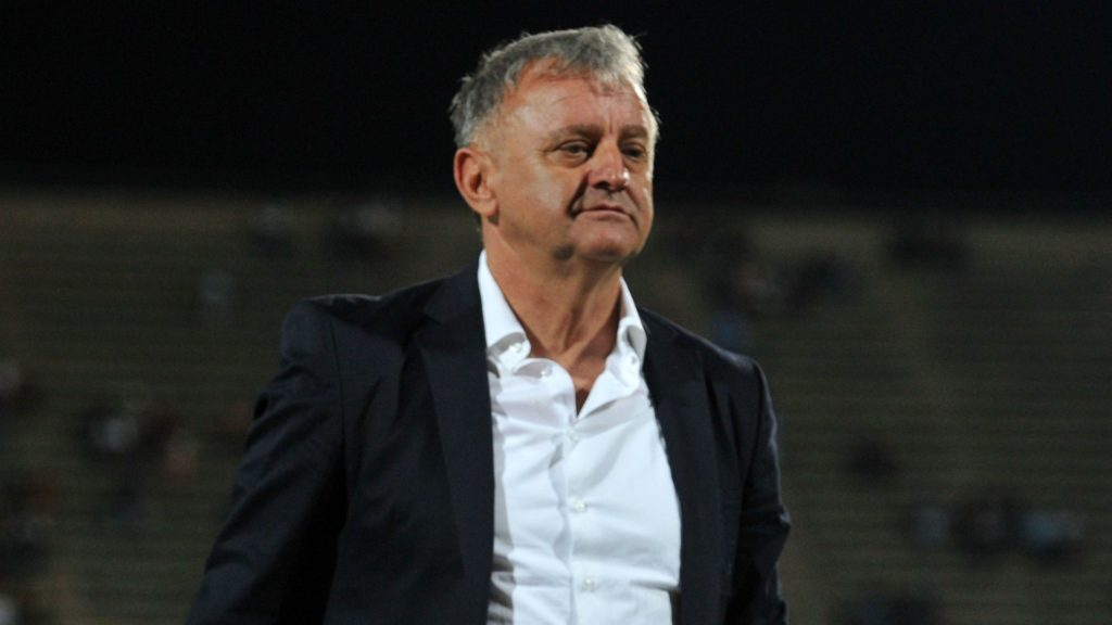 Polokwane sack coach Zlatko Krmpotic