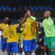 Sphelele Mkhulise of Mamelodi Sundowns celebrates his goal