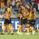 Kaizer Chiefs celebrating one of their goal during the Absa Premiership 2019/20 game between Kaizer Chiefs and Bloemfontein Celtic