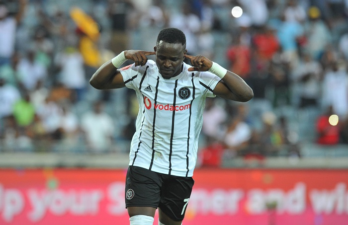 Gabadinho Mhango of Orlando Pirates