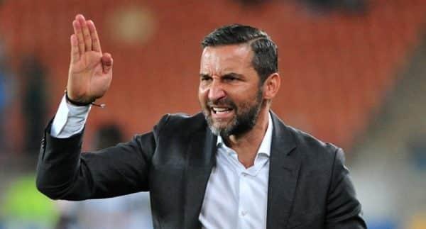 Josef Zinnbauer coach of Orlando Pirates