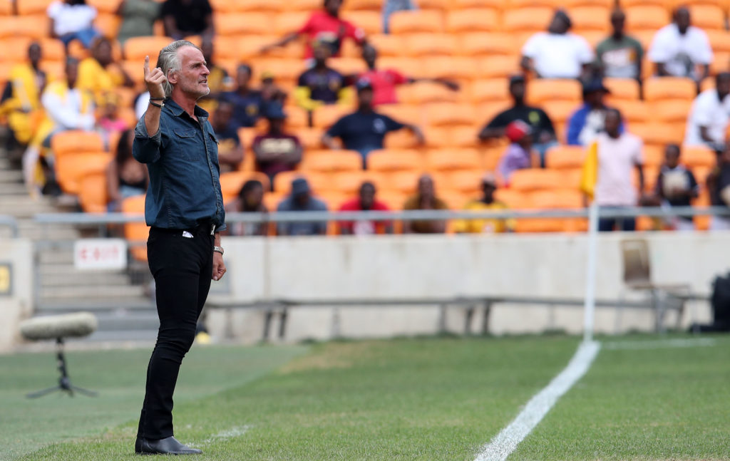 Cape Town City place Riekerink on administrative leave
